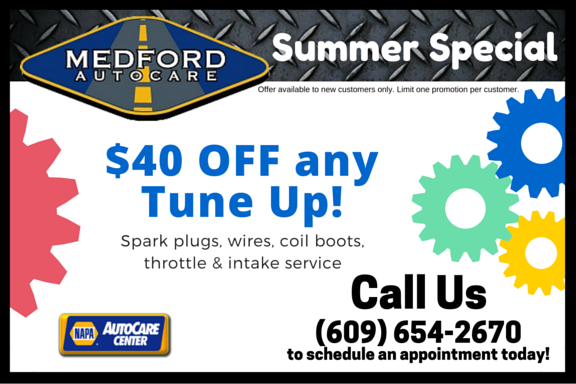Medford Auto Care – Tune-Ups