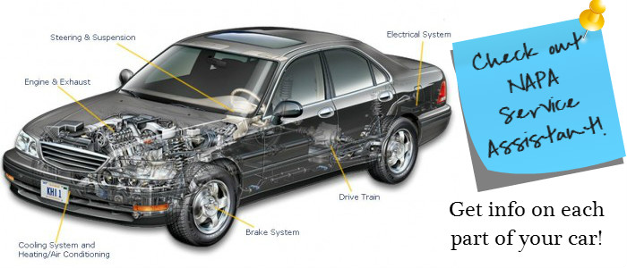 Medford Auto Care teaches you about your car through our NAPA Auto Assistant!